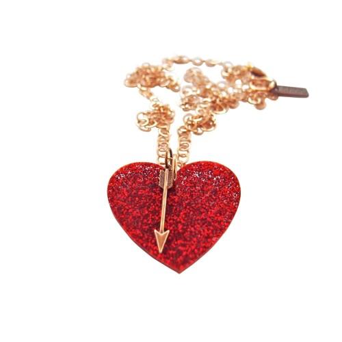 """""""Glitter Love"""" pendant"""