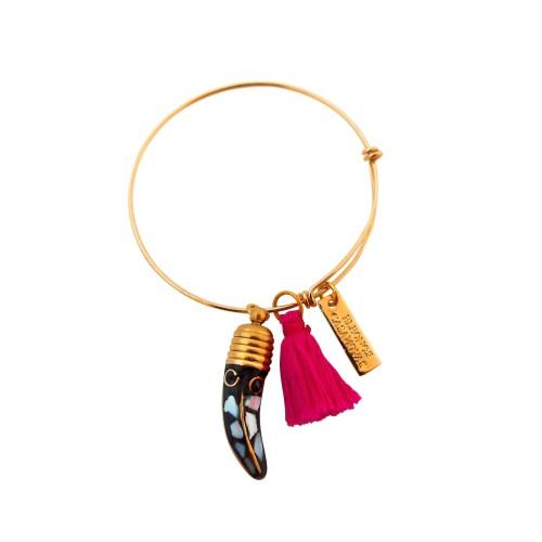 White horn bracelet
