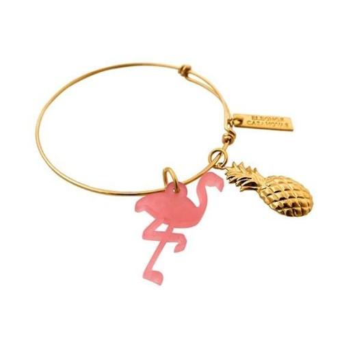 Flamingo & Pineapple bangle