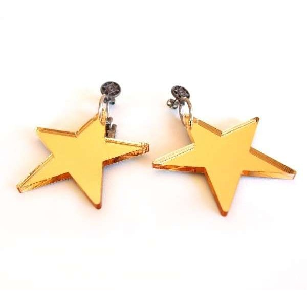 Pendientes de estrella
