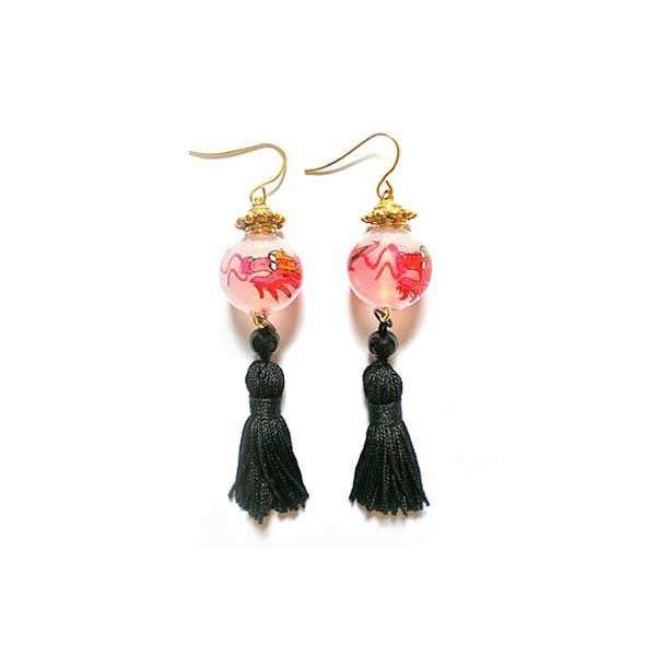 Red Dragon earrings