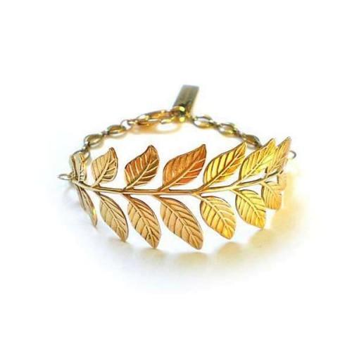 Olive leaves bracelet