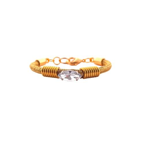 Bling Bling de Luxe bracelet - Gold