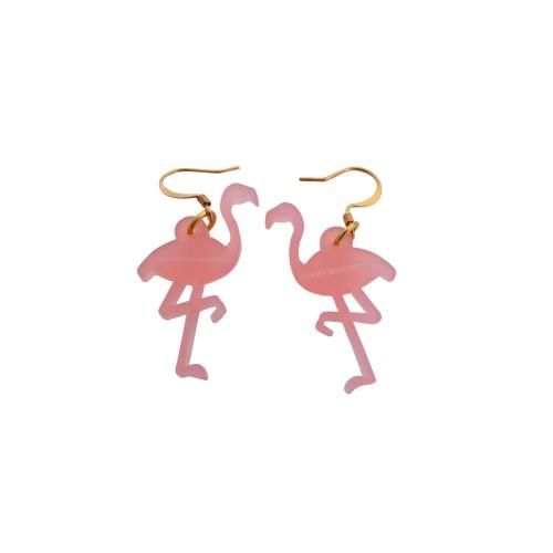 Pendientes Flamingo
