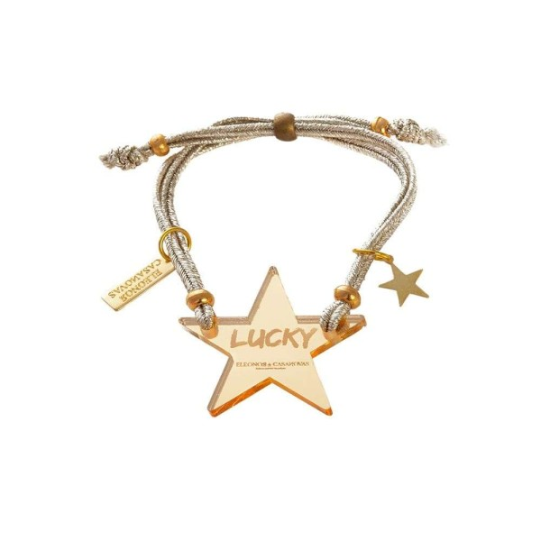 Lucky Star bracelet - Golden mirror
