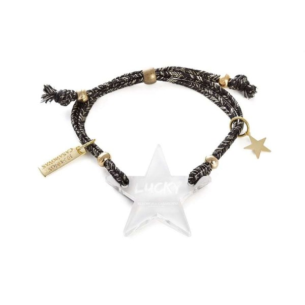 Lucky Star bracelet - White