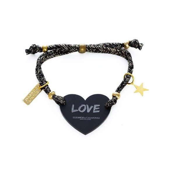 Lucky Love bracelet - Black