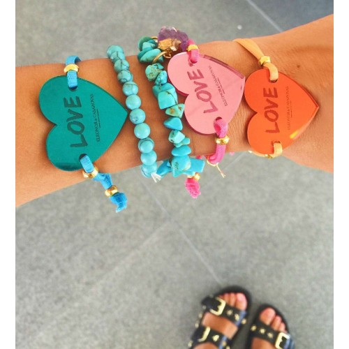 Lucky Love & Lucky Star bracelets - Colour Edition