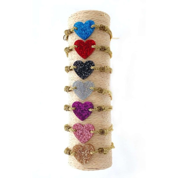 Pulsera mini Glitter Love