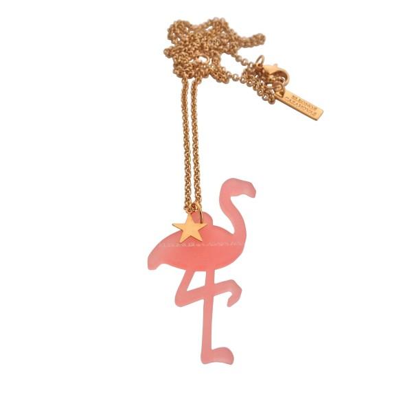 Maxi Flamingo Star Pendant