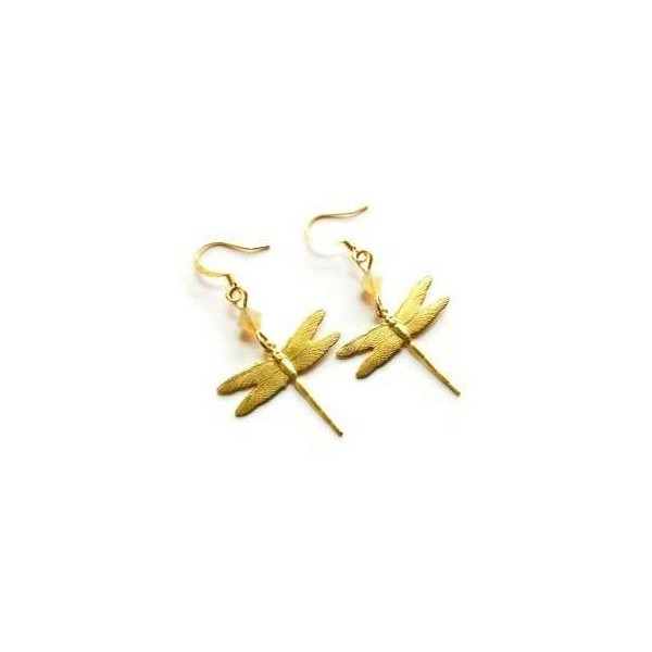 Goldplated Baby Dragonflies
