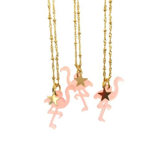 Baby Flamingo Necklace