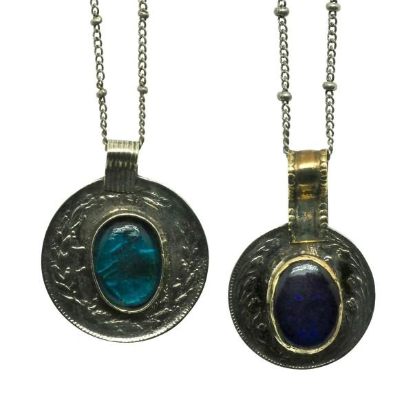 Colgante Amuleto Medalla Vintage