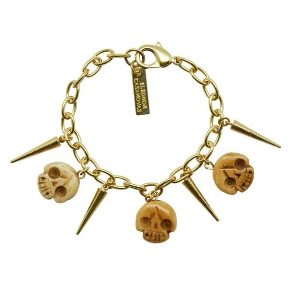 Pulsera Skulls & Spikes