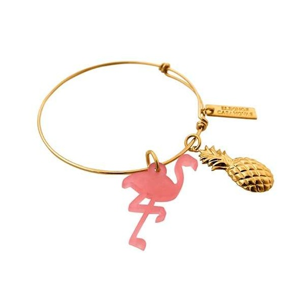 Flamingo & Pineapple bangle