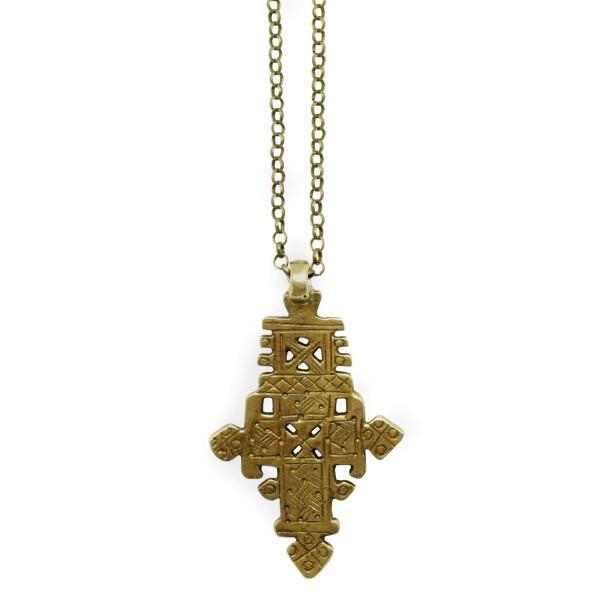 Bohemian Cross pendant