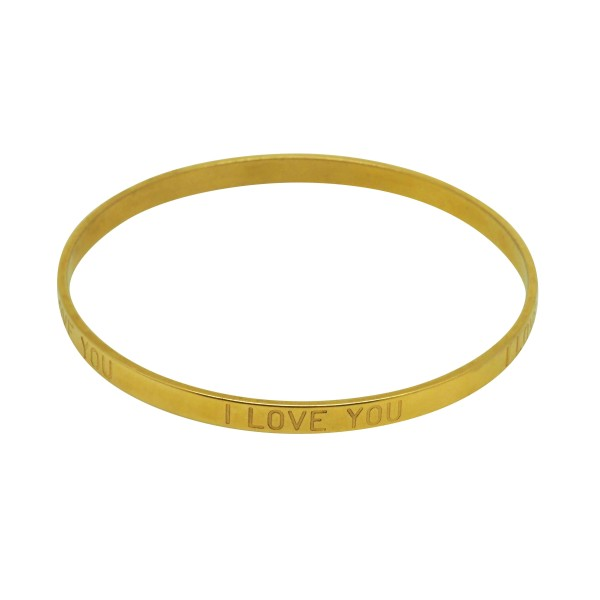 "Brazalete ""I Love You"""