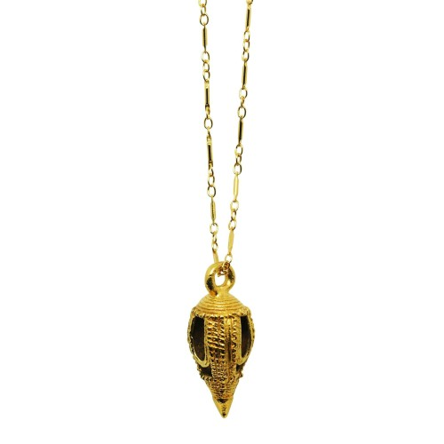 Ethnic Gold-plated Talisman