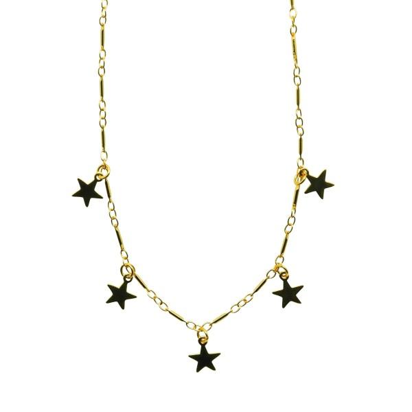 Collar choker Five Stars