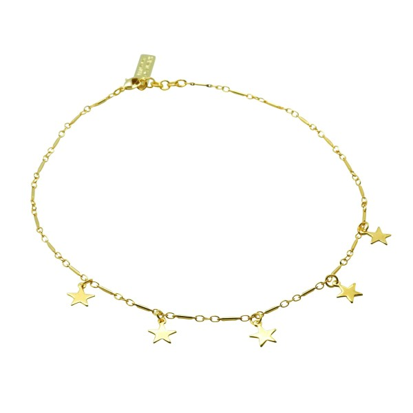 Five Stars Choker Necklace