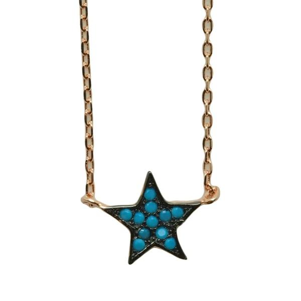 Gargantilla Blue Star