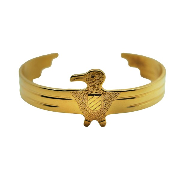 Goldplated 18K Eagle cuff