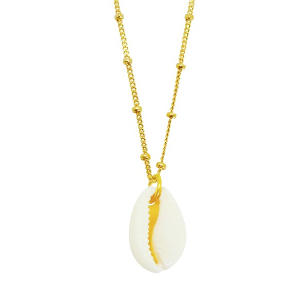 """Cowry Shell"" Necklace"