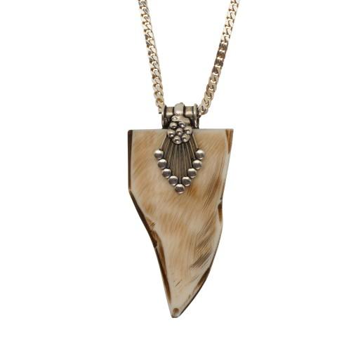 Horn Arrow Necklace