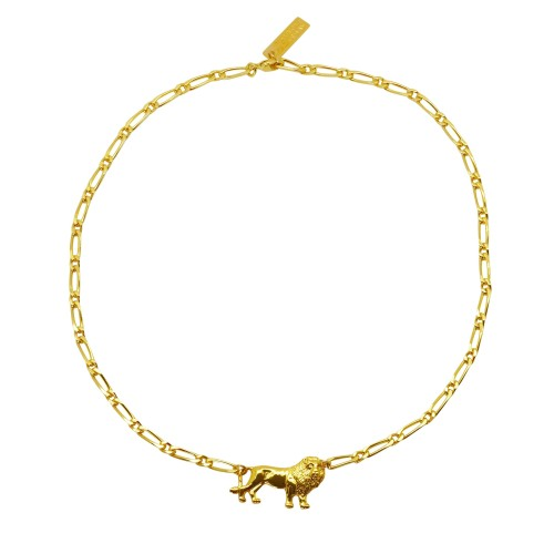 Collar choker mini Lion