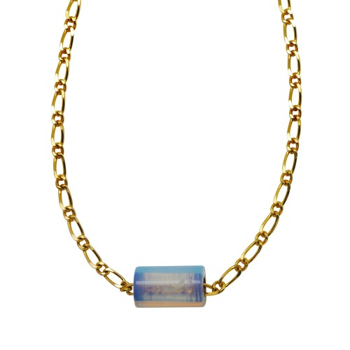 Opaline tube Necklace