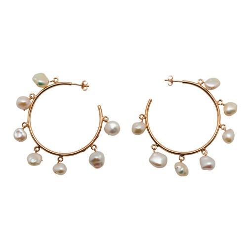 """Pendientes """"Big Pretty Pearls"""""""