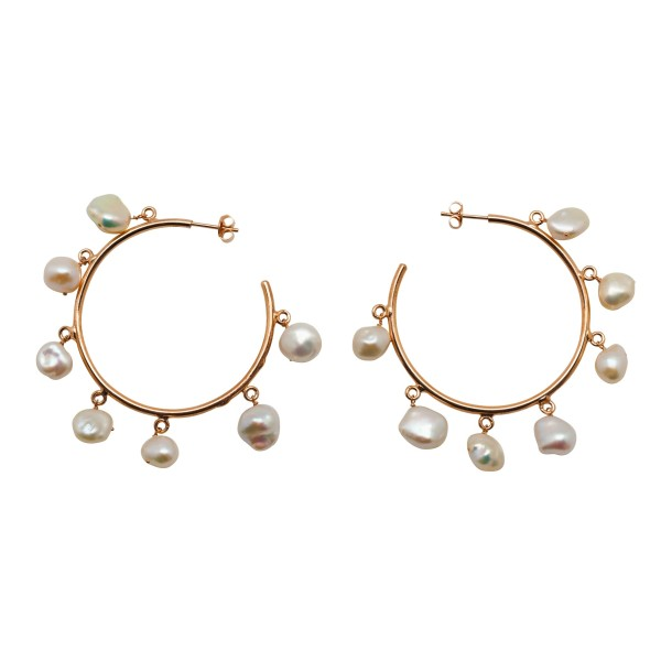 "Pendientes ""Big Pretty Pearls"""