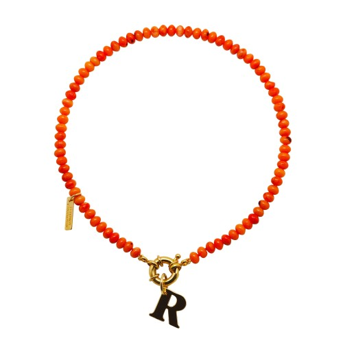 "Collar ""Coral Sunset"""