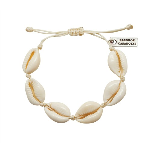 """Shells for Every Day"" bracelet"