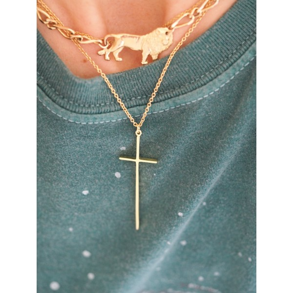 Basic Cross Necklace