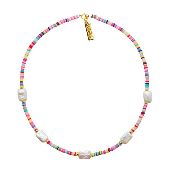 """Collar """"Summer Lovin Pearls"""""""