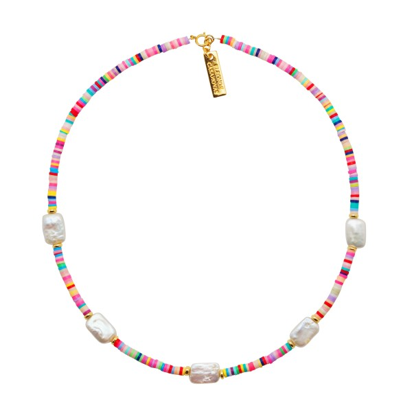 "Collar ""Summer Lovin Pearls"""