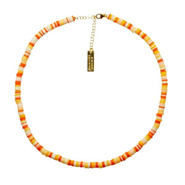 "Collar ""Orange Summer"""
