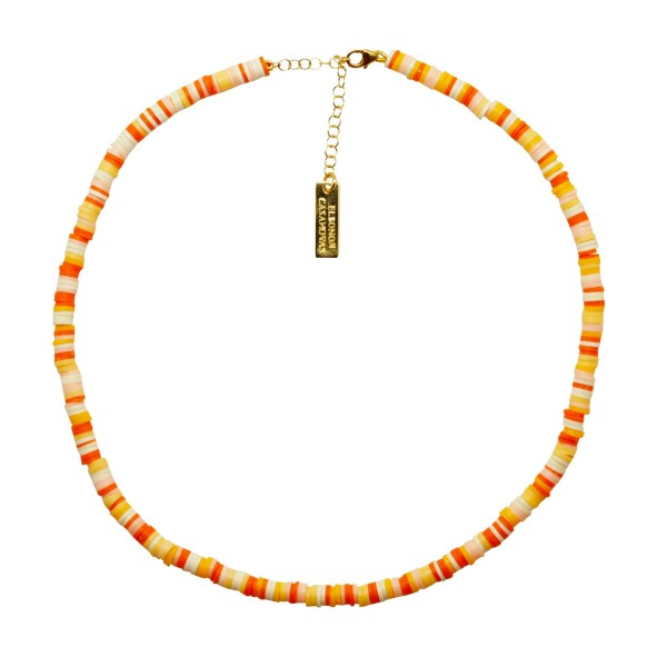 "Collar ""Orange Summer"""