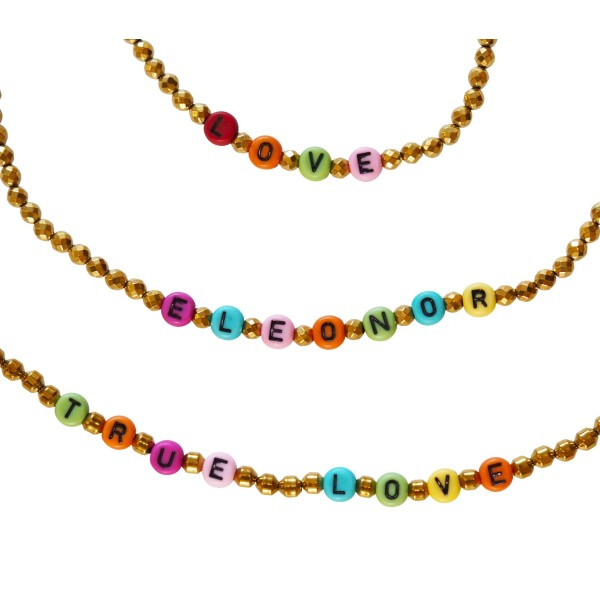 """Color My Name"" Necklace"