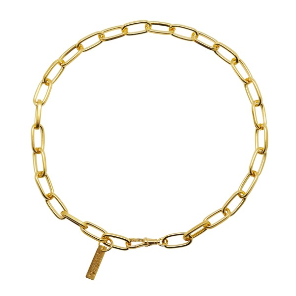 """Big Links"" choker necklace"
