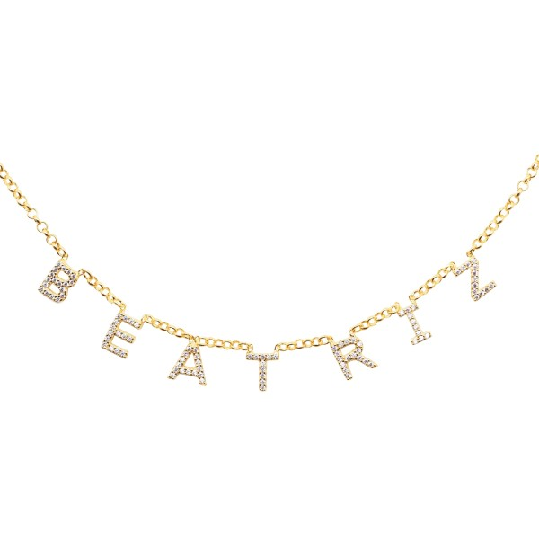 """Say my Name"" Necklace"