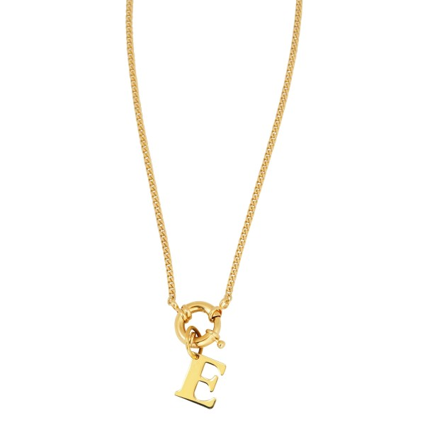 """Basic Chain"" Necklace with or without Initial"