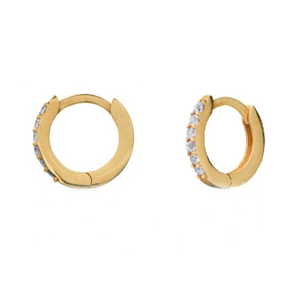 """Too Cute"" Hoop earrings"