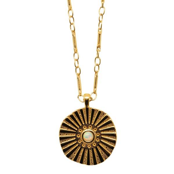 """""""Sun Opal"""" Necklace"""