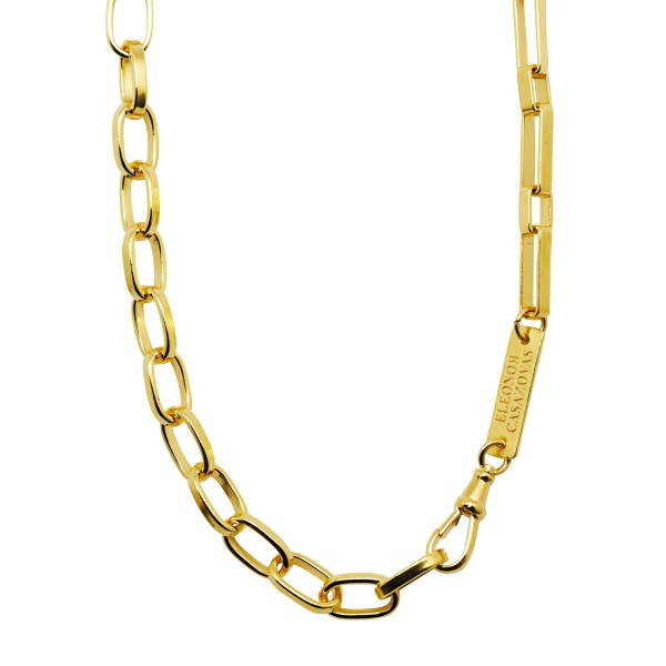 """Mixed Chains"" necklace"