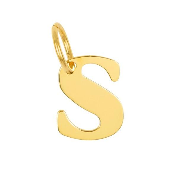 Letra para colgar bañada en oro