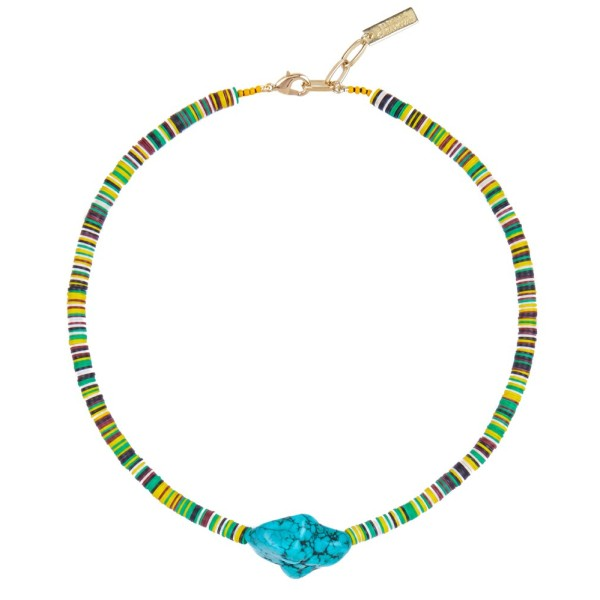 """Summer Vibes"" Necklace - Blue"