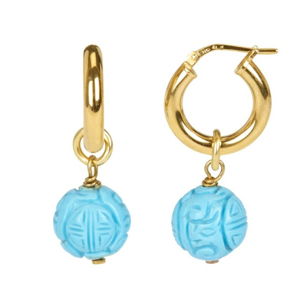 "Pendientes ""Turquoise Lovers"""