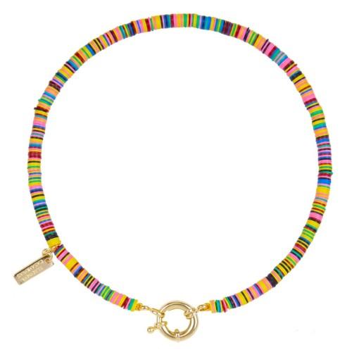 Collar Good Vibes con cierre de reasa